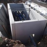 Chambre d'adduction d'eau