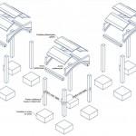 Cross-section of kit